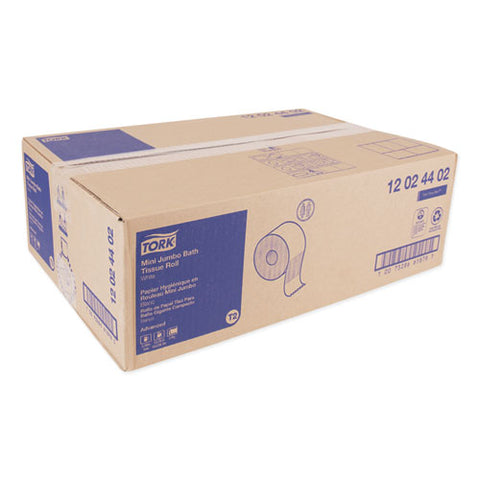 "Advanced Mini-jumbo Roll Bath Tissue, Septic Safe, 2-ply, White, 3.48"" X 751 Ft, 12 Rolls-carton"