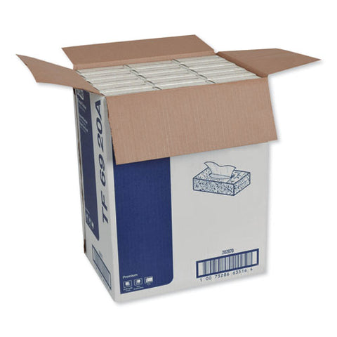 Premium Facial Tissue, 2-ply, White, 100 Sheets-box, 30 Boxes-carton
