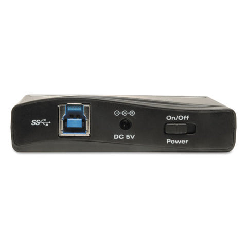 Usb 3.0 Superspeed Hub, 4 Ports, Black