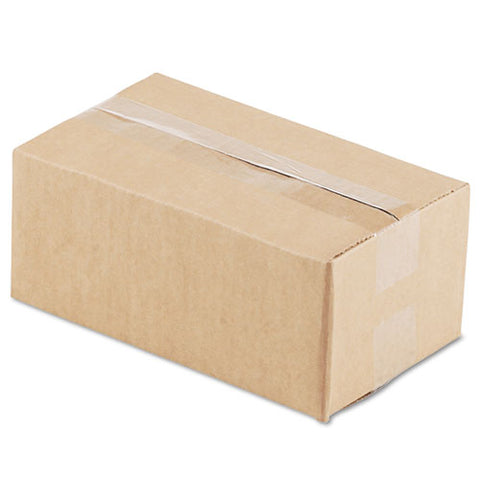 "Fixed-depth Shipping Boxes, Regular Slotted Container (rsc), 10"" X 6"" X 4"", Brown Kraft, 25-bundle"
