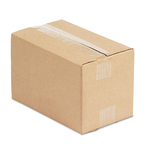 "Fixed-depth Shipping Boxes, Regular Slotted Container (rsc), 10"" X 6"" X 6"", Brown Kraft, 25-bundle"