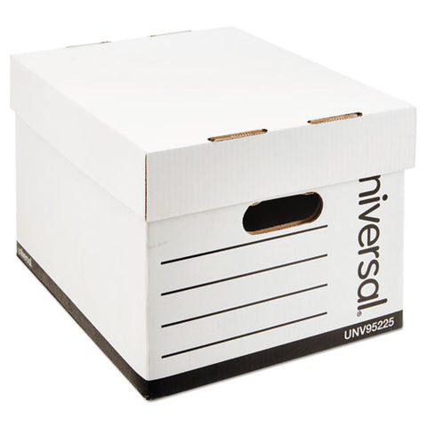 Professional-grade Heavy-duty Storage Boxes, Letter-legal Files, White, 12-carton