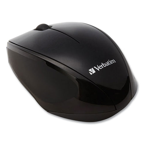Wireless Notebook Multi-trac Blue Led Mouse, 2.4 Ghz Frequency-32.8 Ft Wireless Range, Left-right Hand Use, Black