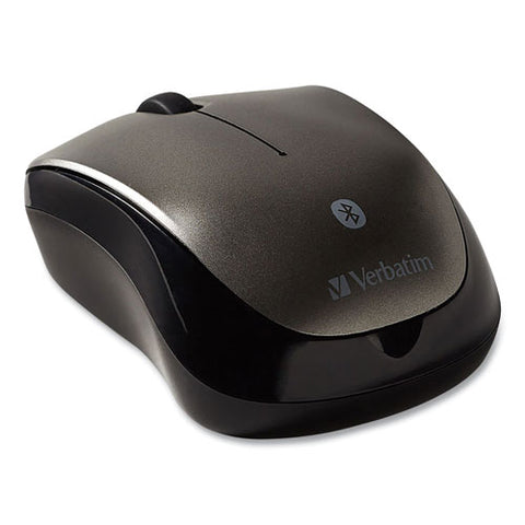 Bluetooth Wireless Tablet Multi-trac Blue Led Mouse, 2.4 Ghz Frequency-30 Ft Wireless Range, Left-right Hand Use, Graphite