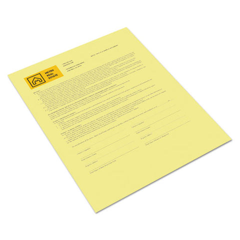 Revolution Digital Carbonless Paper, 1-part, 8.5 X 11, Canary, 500-ream