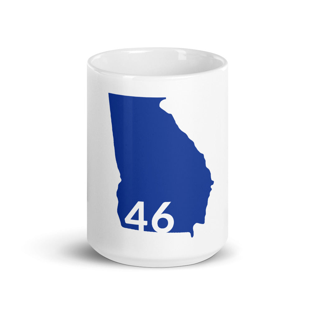 Georgia Blue 46 - 15oz Mug