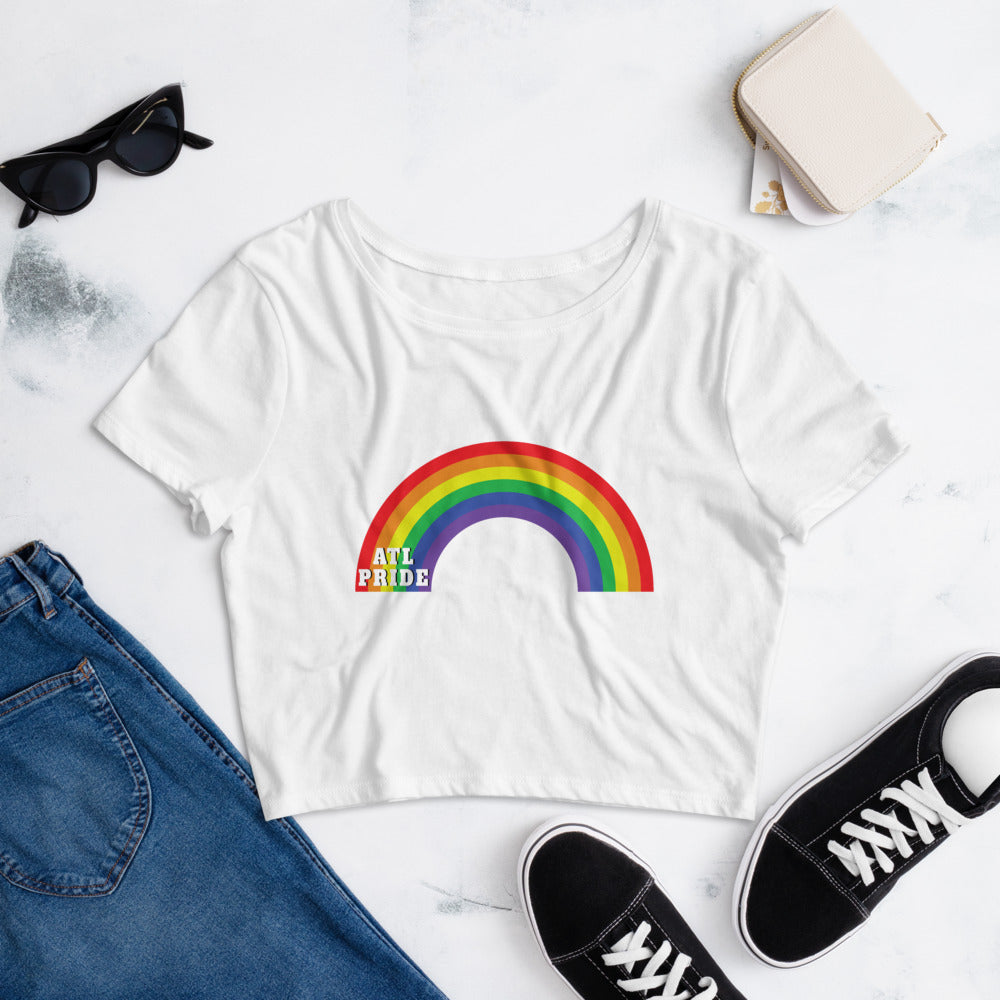 ATL Rainbow Women's Crop Tee
