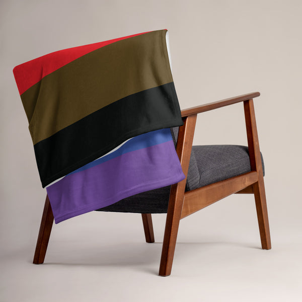 Gay Pride Throw Blanket