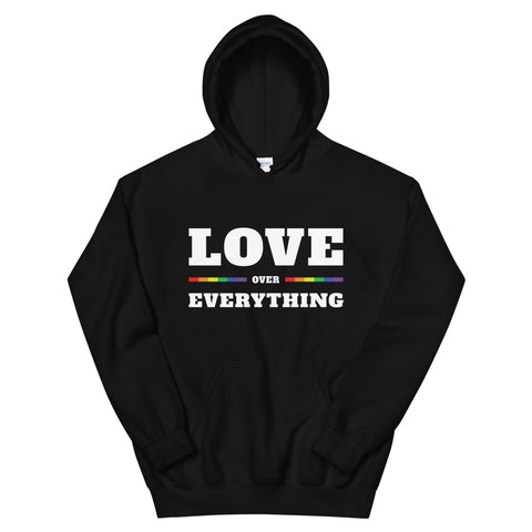 Love Over Everything Unisex Hoodie