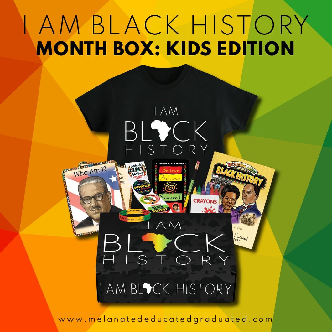 I Am Black History Box: Kids Edition