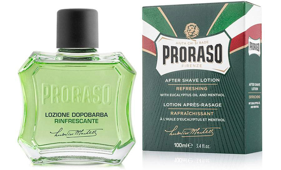 aftershave lotion from Proraso