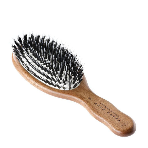 Pneumatic Boar & Nylon Bristles - Travel Brush