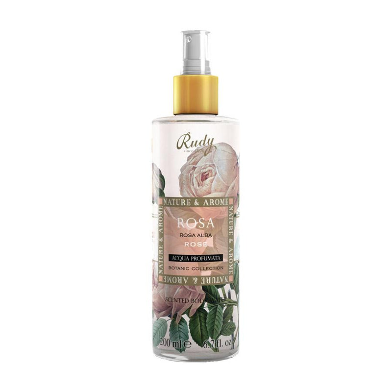 Nature & Arome Scented Body Water (Botanic) - Rose