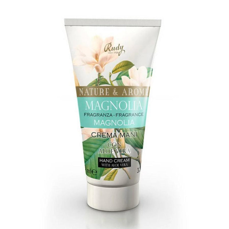 Nature & Arome Hand Cream with Aloe Vera (Botanic) - Magnolia