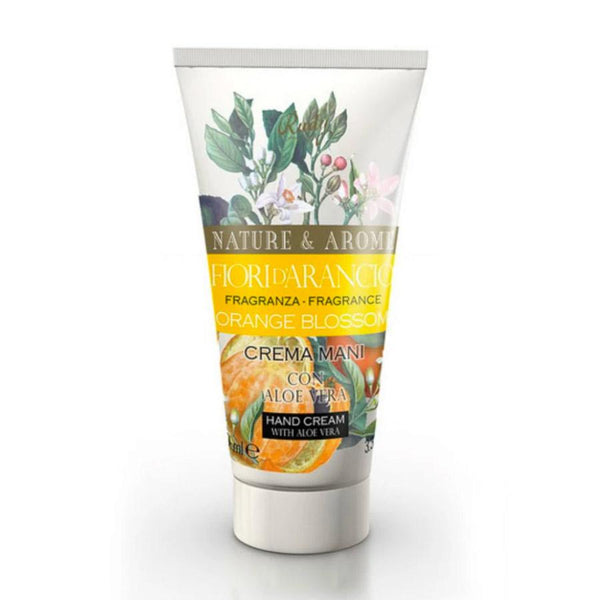 Nature & Arome Hand Cream with Aloe Vera (Botanic) - Orange Blossom