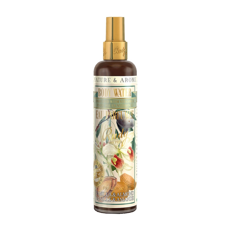 Nature & Arome Body Water (Apothecary) - Vanilla & Almond Oil