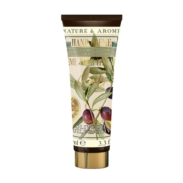 Nature & Arome Hand Cream enriched w/Vitamin E (Apothecary) - Olive Oil