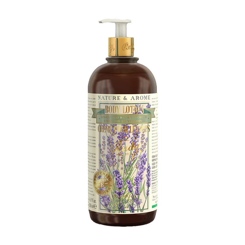 Nature & Arome Body Lotion enriched w/ Vitamin E (Apothecary) - Lavender & Jojoba Oil