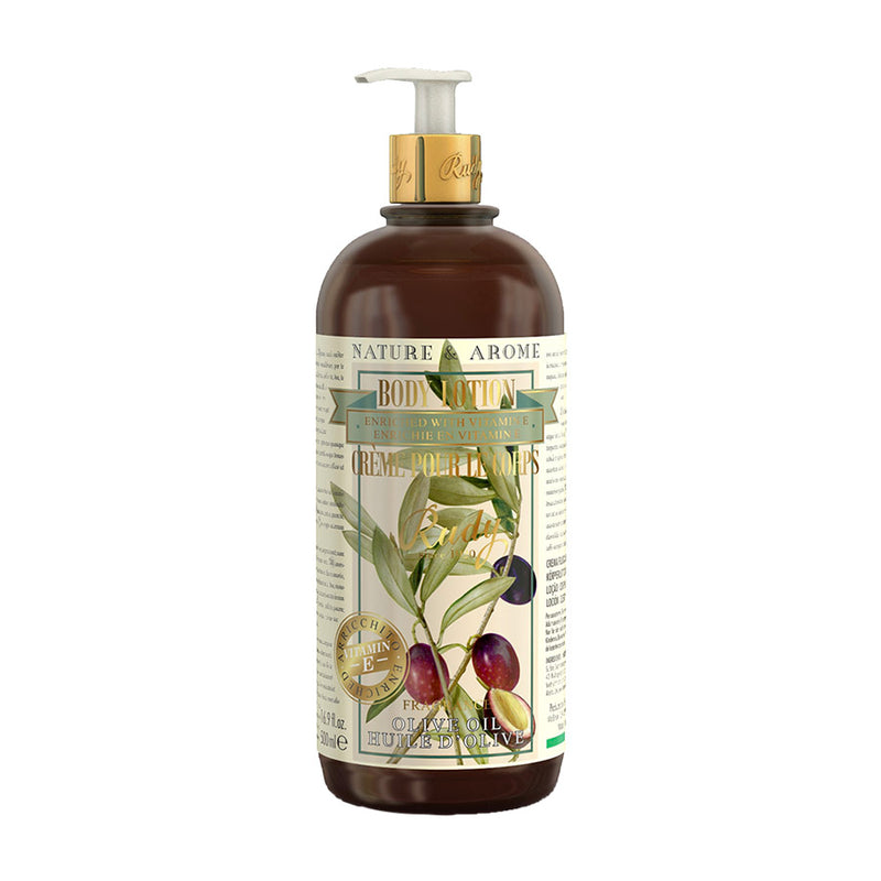Nature & Arome Body Lotion enriched w/ Vitamin E (Apothecary) - Olive Oil