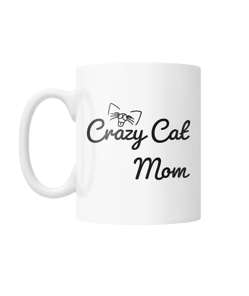 Crazy Cat Mom Mug
