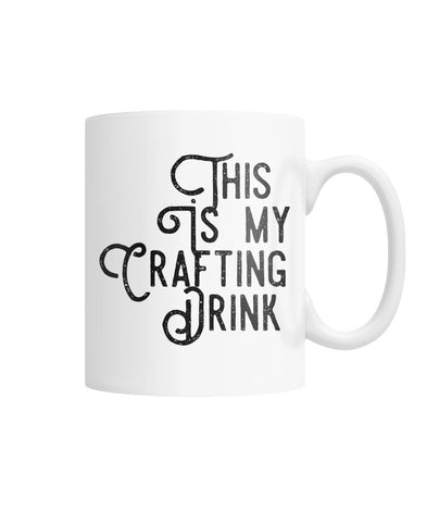 This Is My Crafting Drink Mug