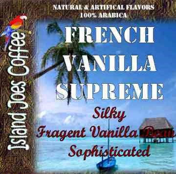 French Vanilla Flavored Gourmet Coffee
