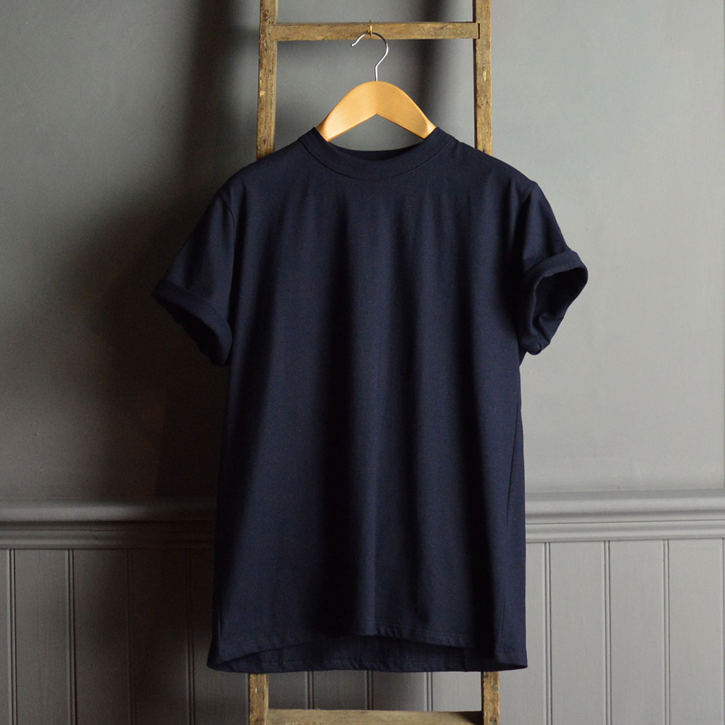 Armor-Lux Core Navy Classic T Shirt
