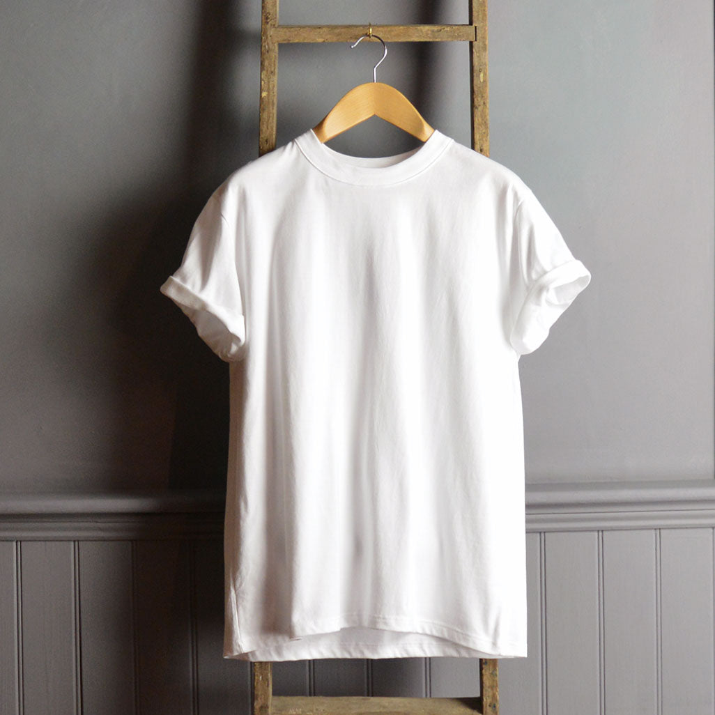 Armor-Lux Core White Classic T Shirt