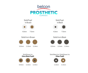 Belcon 60% UV Prosthetic Lenses (Toric)