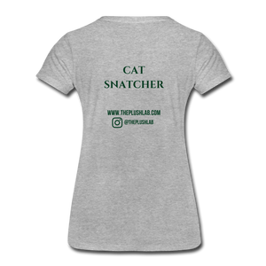 Cat Snatcher - heather gray