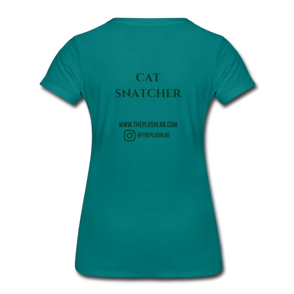 Cat Snatcher - teal