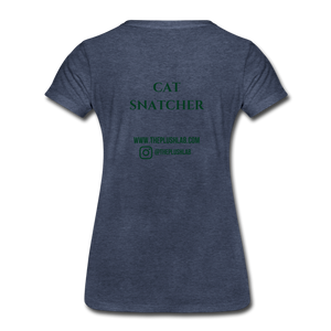 Cat Snatcher - heather blue