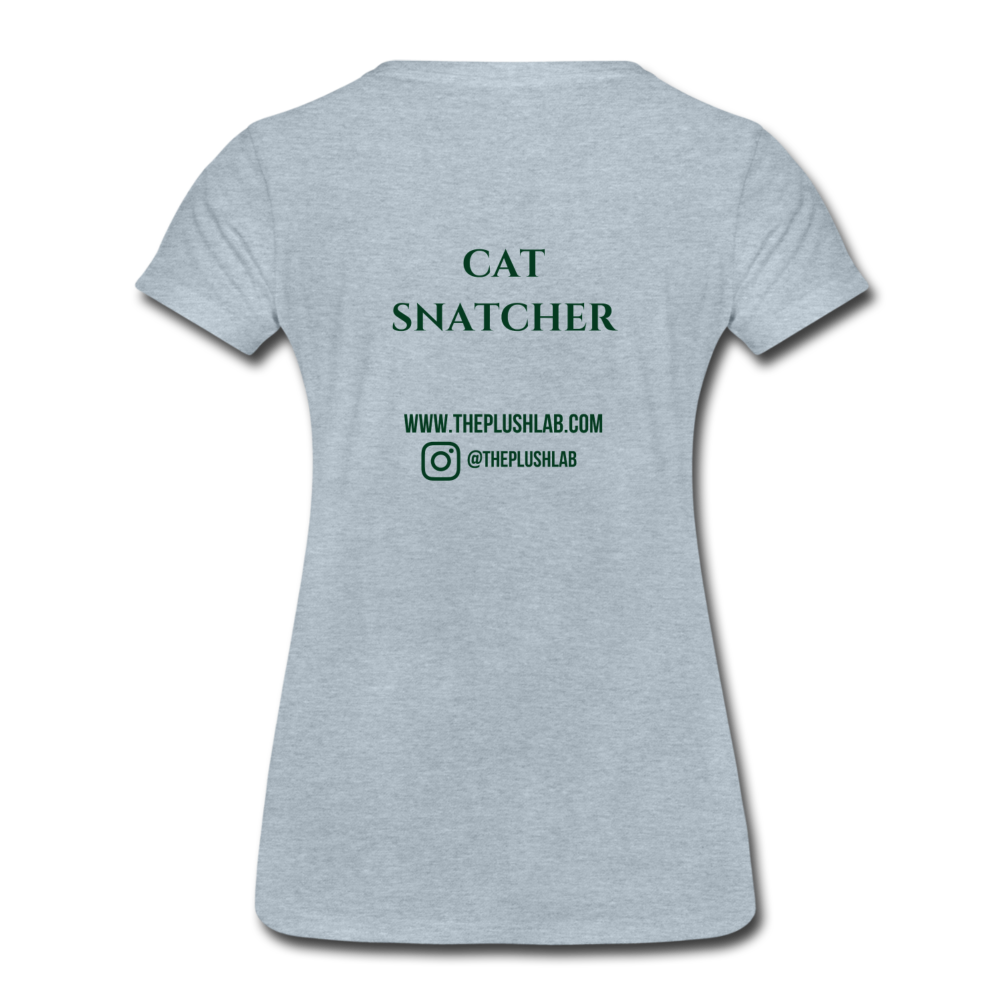 Cat Snatcher - heather ice blue