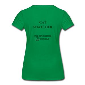 Cat Snatcher - kelly green