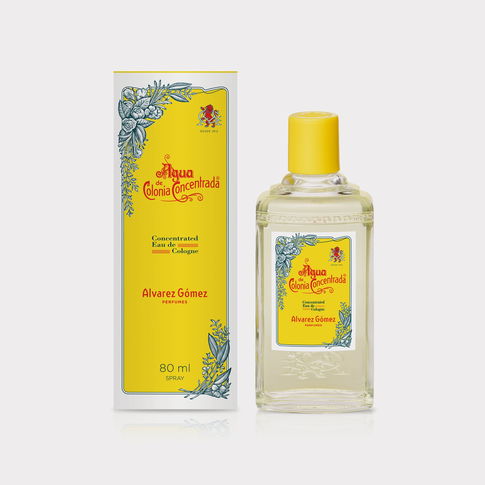 Agua de Colonia Natural Spray 80ml