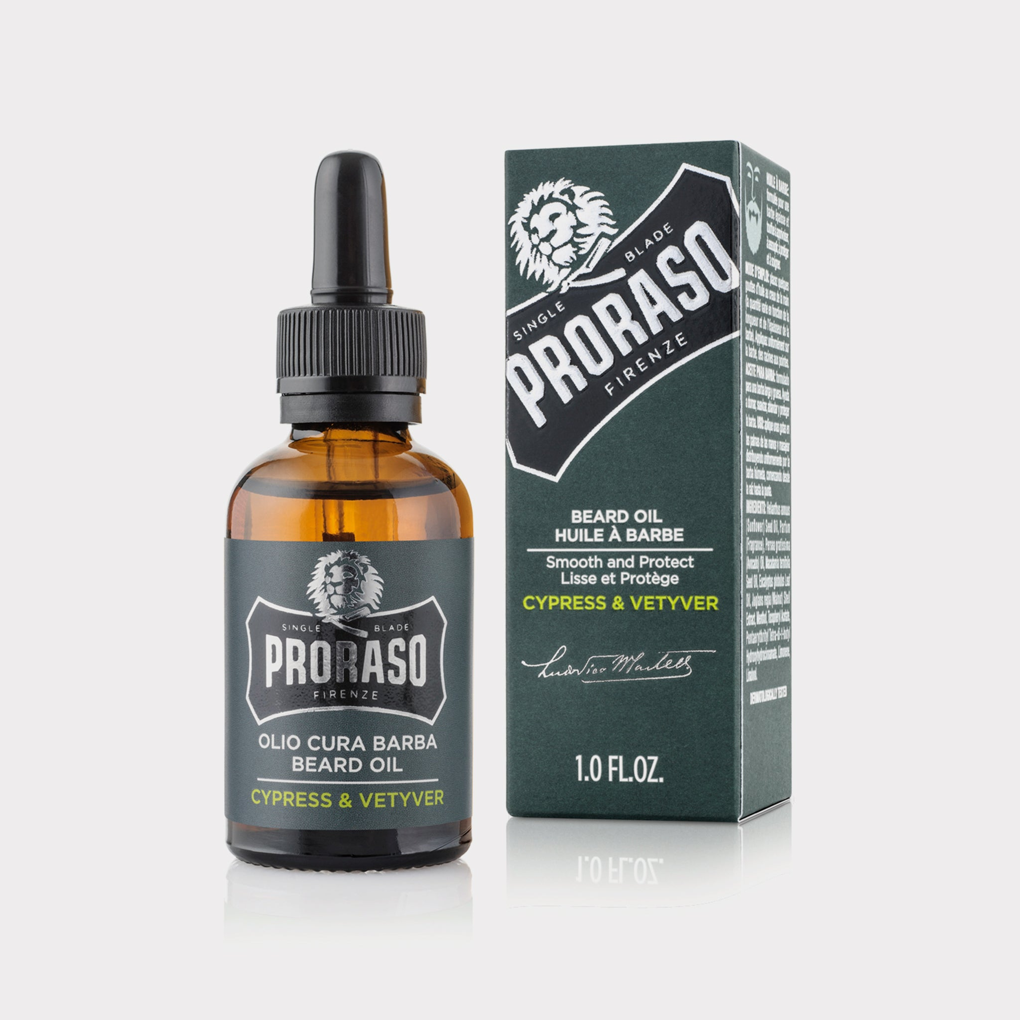 Proraso Cypress & Vetiver Beard Oil 30ml