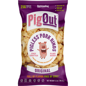 Pigless Pork Rinds Vegan Snacks