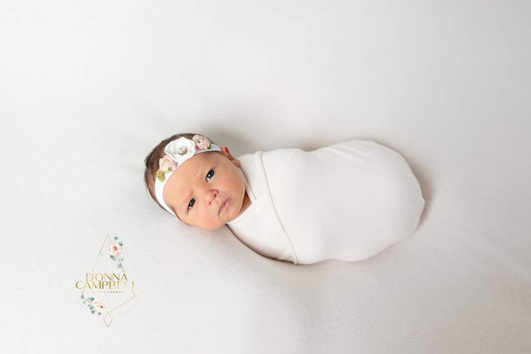 Newborn Photography Backdrop, Newborn Girl Photography Inspiration, Donna Campbell Photography, Sweet Baby Photo Props