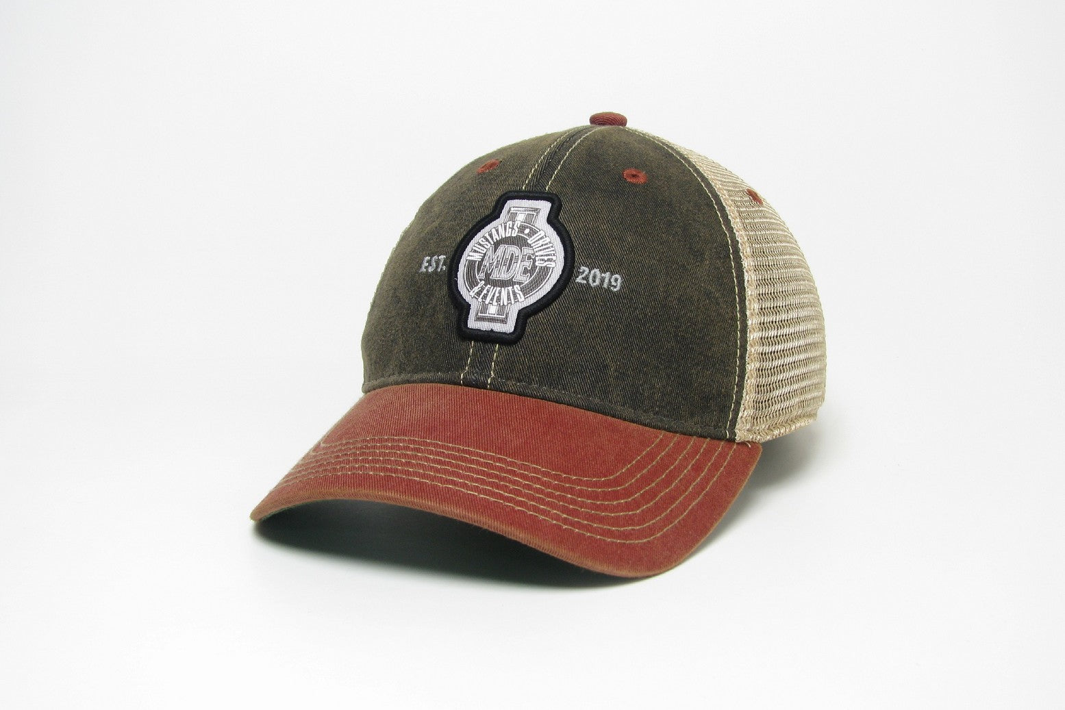 MDE Group Logo Hat-Trucker OFA Two Tone