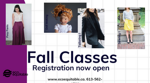 Fall Classes are open for Registration