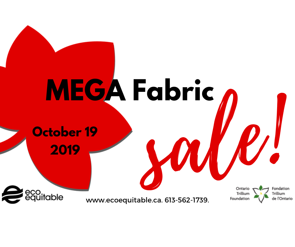 October 19 Upcoming Mega Fabric Sale