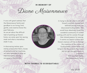 In Memory of: Diane Maisonneuve