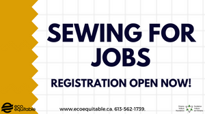 Sewing for Jobs Registration Open