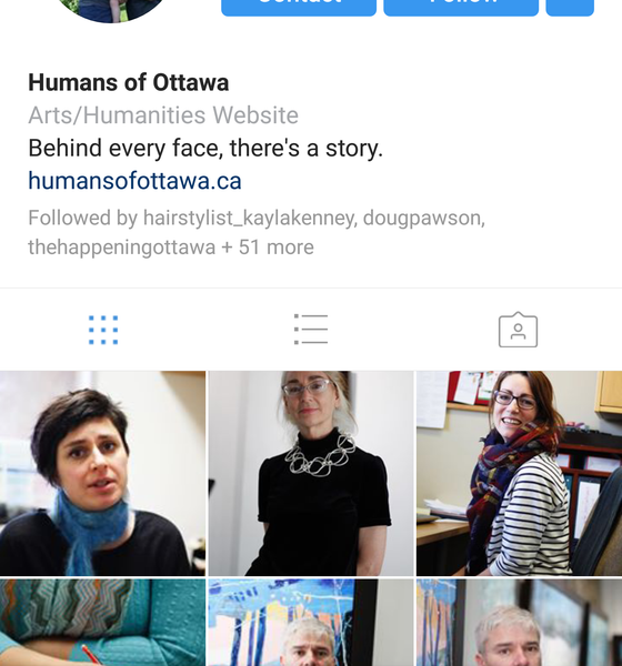 EcoEquitable Featured in Ottawa's Popular Humans of Ottawa Blog