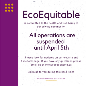 EcoEquitable closed until April 5th