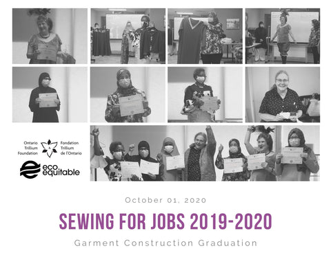 Sewing for Jobs Graduation