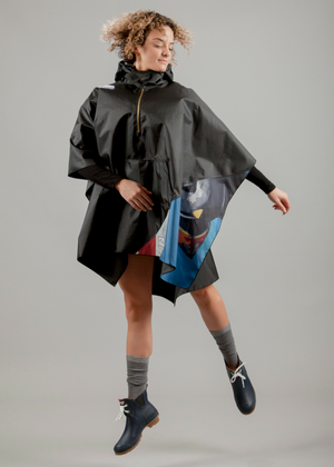 Flagbarer Rocky Mountain Rain Cape