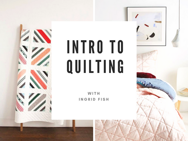 Introduction to Quilting (March 7th to March 28)