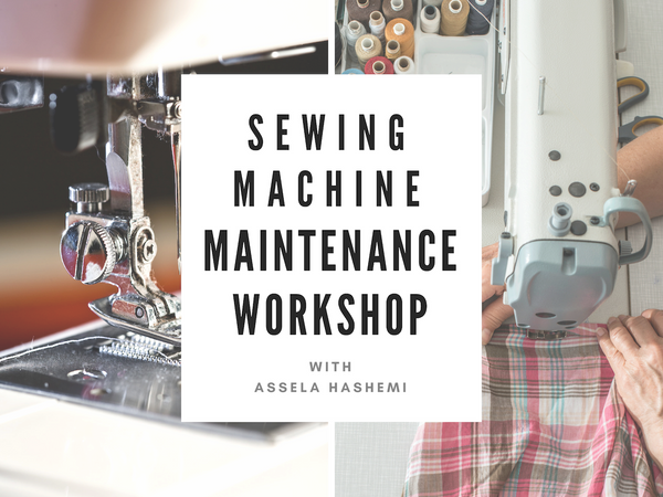 Sewing Machine Maintenance (June 1st)