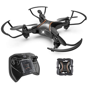 DROCON DC-65 Foldable Mini RC Drone for Kids (Propeller Protect Guards)